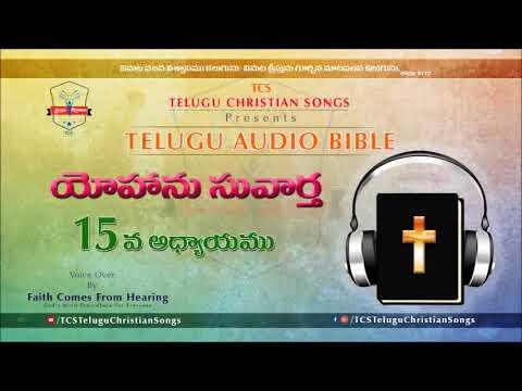 Gospel of John (యోహాను సువార్త) Chapter 15 || Telugu Audio Bible ||