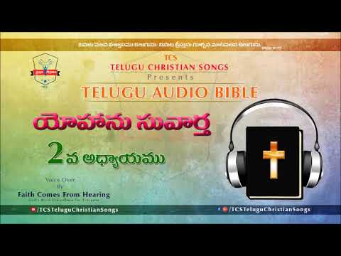 Gospel of John (యోహాను సువార్త) Chapter2  || Telugu Audio Bible ||