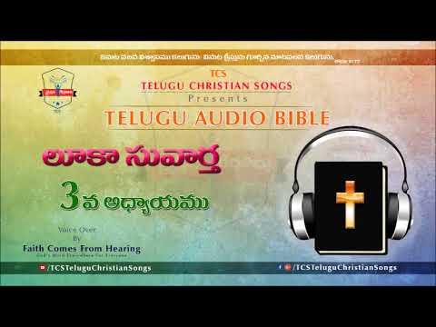 Gospel of Luke (లూకా సువార్త) Chapter 3 || Telugu Audio Bible ||