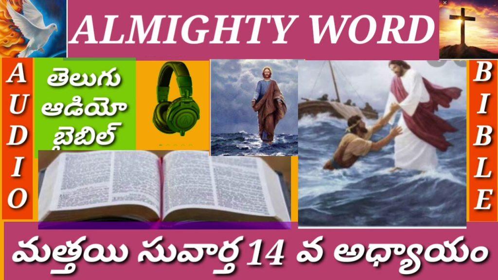మత్తయి సువార్త 14 వ అధ్యాయం (తెలుగుఆడియో బైబిల్)MATTHEW CHAPTER 14