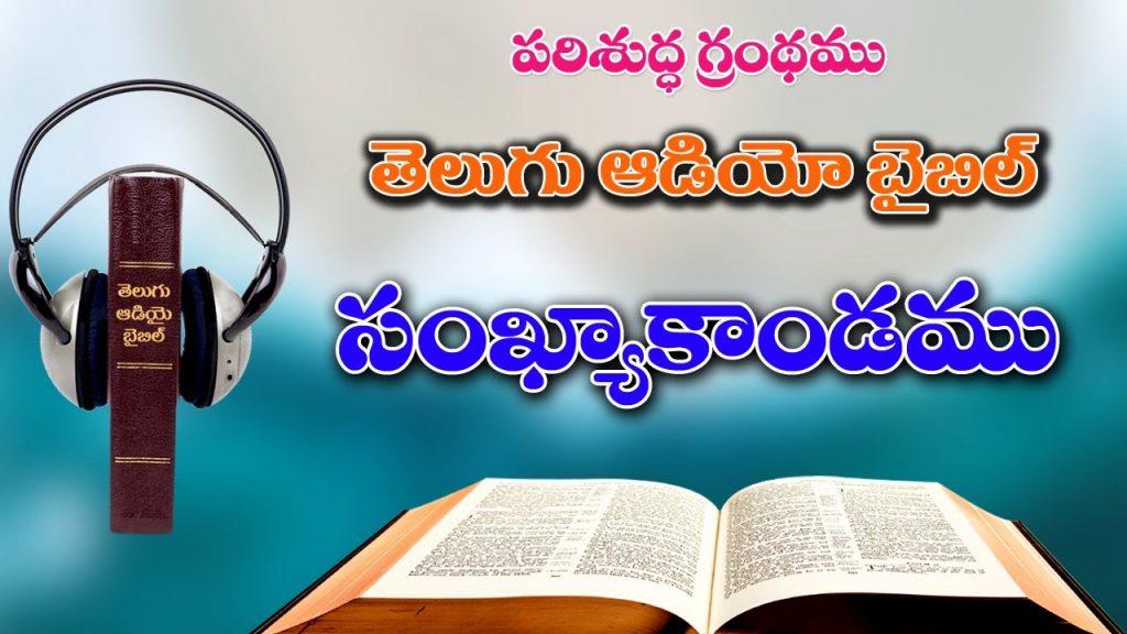 04_సంఖ్యాకాండము_Sankhyakandamu_The Book of Numbers_Telugu Audio Bible Full