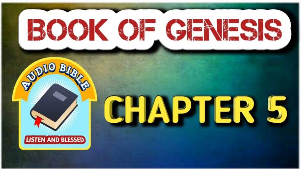 Book of GENESIS TELUGU AUDIO BIBLE CHAPTER 5 || ఆదికాండము తెలుగు ఆడియో బైబిల్ 5 అధ్యాయము