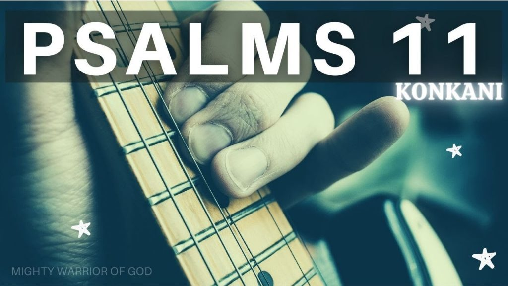 DAILY SCRIPTURE READING 2020   PSALM 11 IN KONKANI   KONKANI AUDIO BIBLE
