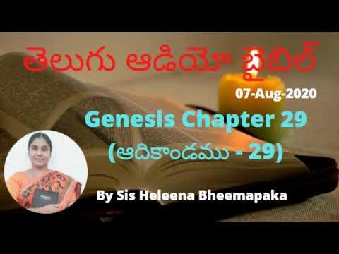 Genesis Chapter 29(ఆదికాండము - 29)||Telugu Audio Bible||