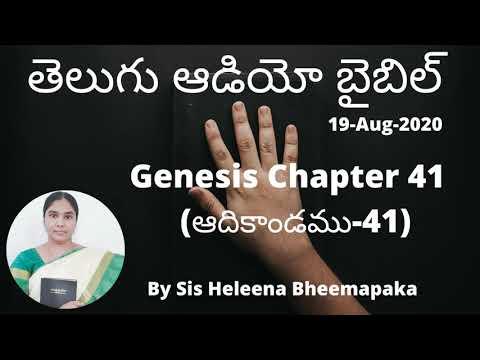 Genesis Chapter 41(ఆదికాండము-41)||Telugu Audio Bible||