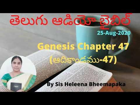 Genesis Chapter 47(ఆదికాండము-47)||Telugu Audio Bible||