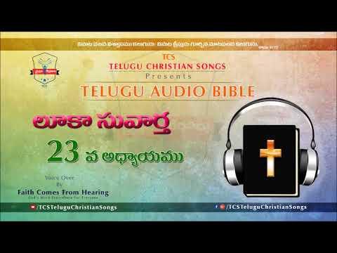 Gospel of Luke (లూకా సువార్త) Chapter 23 || Telugu Audio Bible ||