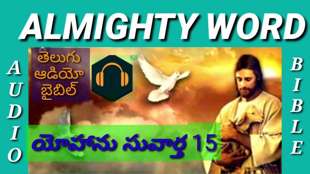 JOHN CHAPTER 15 (TELUGU AUDIO BIBLE)యోహాను సువార్త 15వ అధ్యాయం
