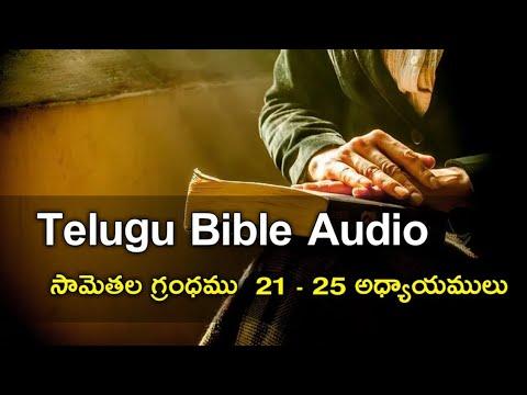 Proverbs 21 - 25 chapters ( సామెతలు ) The holy bible audio in telugu | Telugu Audio Bible