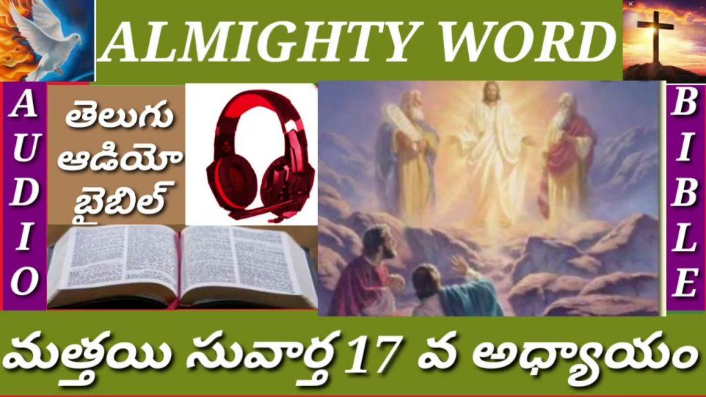 మత్తయి సువార్త 17 వ అధ్యాయం (తెలుగుఆడియో బైబిల్)MATTHEW CHAPTER 17