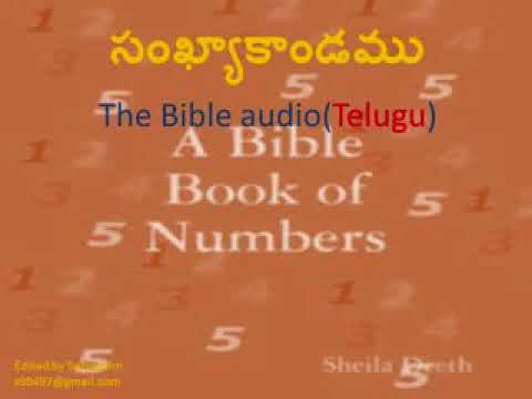 NUMBERS TELUGU BIBLE AUDIO