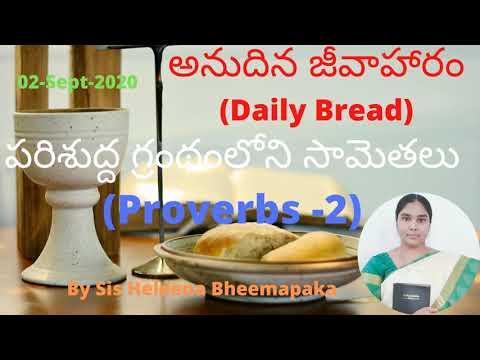 Proverbs Chapter 2(సామెతలు -2)||Telugu Audio Bible||
