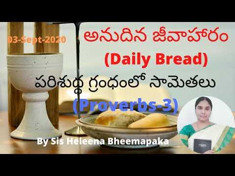 Proverbs Chapter 3(సామెతలు-3)||Telugu Audio Bible||
