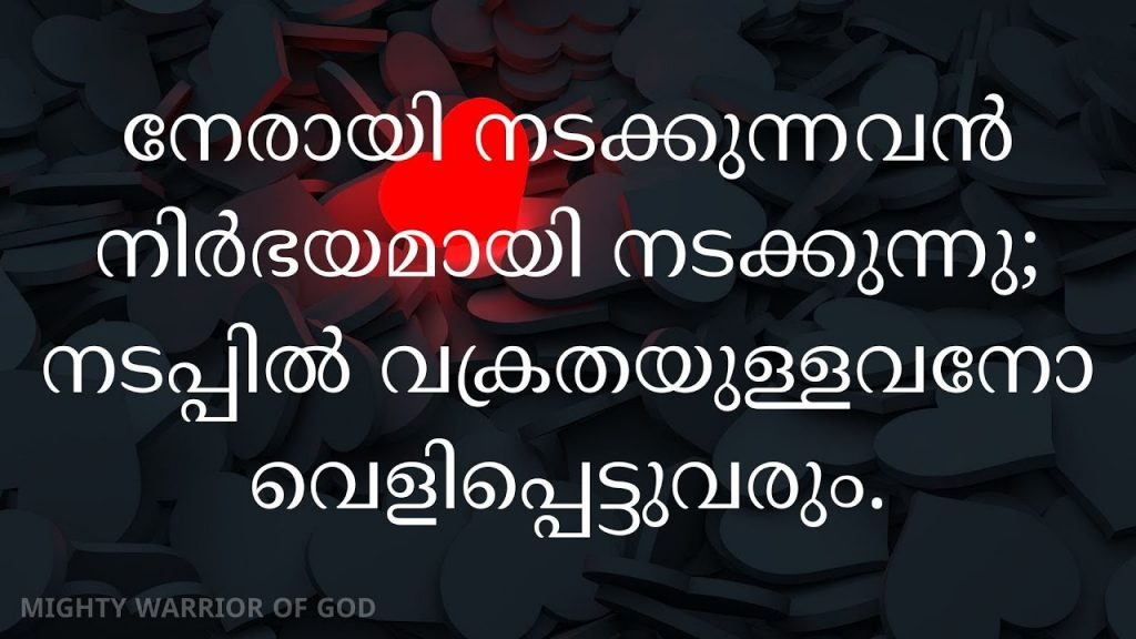 TODAY'S SCRIPTURE | PROVERBS 10 IN MALAYALAM | SADRASHAYVAKYANGAL 10  | MALAYALAM AUDIO BIBLE