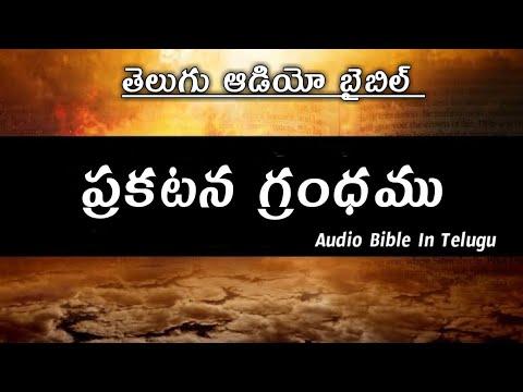 Telugu  Audio Bible The Book Of Revelation ప్రకటన గ్రంధము ఆడియో బైబిల్
